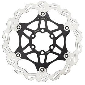 Clarks Lightweight Disc-Rotor Disco freno 6 fori nero